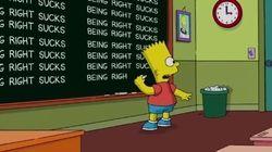 Les Simpson ont trouvé la façon parfaite de revenir sur la prédiction