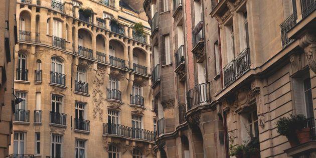 Architecture styles of apartment buildings in Paris,