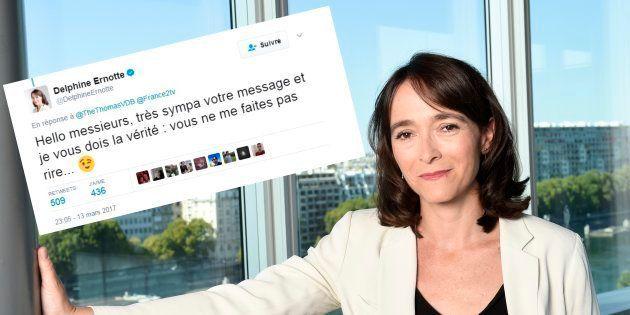 La réponse cinglante de Delphine Ernotte, présidente de France Télé, à Mathieu Madénian et Thomas