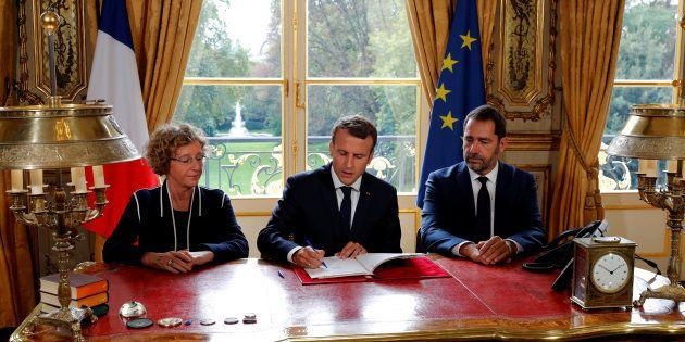 Macron a signé les ordonnances, mais le parcours de la loi Travail n'est pas