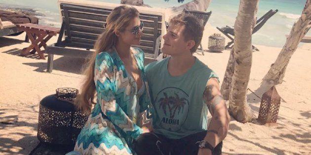 Paris Hilton en vacances avec son compagnon Chris Zylka sur les bords du Golfe du