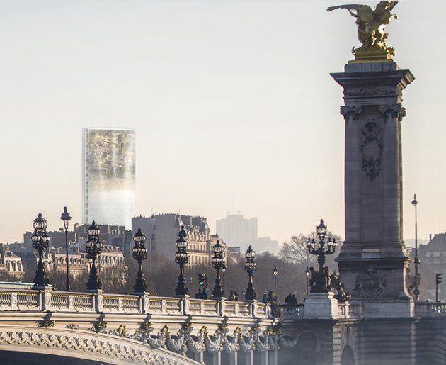 La tour Montparnasse aurait pu devenir un miroir