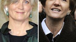 Pénélope Fillon et Isabelle Juppé en campagne pour leurs