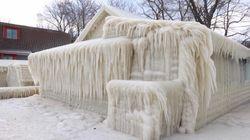 Cette maison prise dans la glace est tellement dingue qu'ils ont dû prouver qu'elle n'était pas