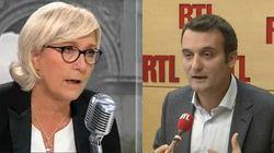 Florian Philippot et Marine Le Pen se rendent coup pour coup dans les