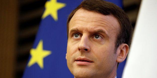 Emmanuel Macron à l'Assemblée nationale le 8 mars