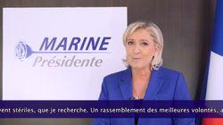 Voici le sens du nouveau logo de Marine Le Pen pour