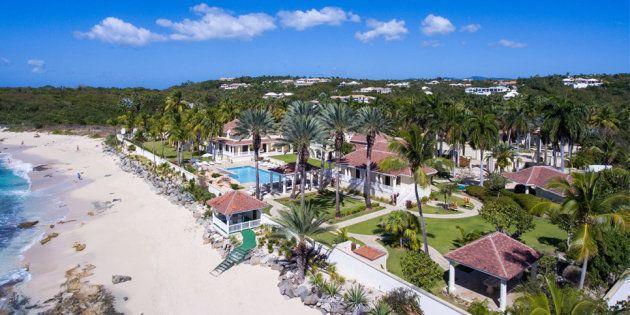 Ouragan Irma: la villa de Donald Trump à Saint-Martin ne ressemble plus à