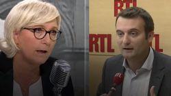 Marine Le Pen et Florian Philippot sont au moins d'accord sur deux
