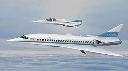 Richard Branson présente son avion qui volerait plus vite que le