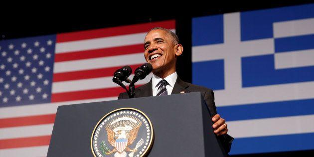 Barack Obama à Athènes