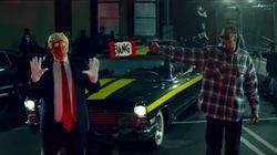 Trump étrille Snoop Dogg après son clip où il pointe une arme factice sur un faux