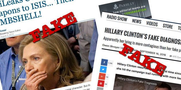 Sur Facebook, les fausses informations ont bien eu plus de succès que les vrais articles pendant les...
