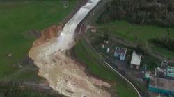 L'ouragan Maria fait céder un barrage à Porto Rico, 70.000 personnes