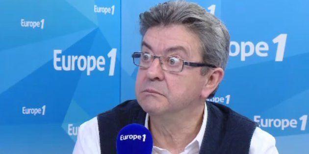 Jean-Luc Mélenchon ce mercredi 15 mars sur