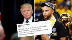 Vexé de leur hésitation, Trump annule l'invitation faite aux champions de la
