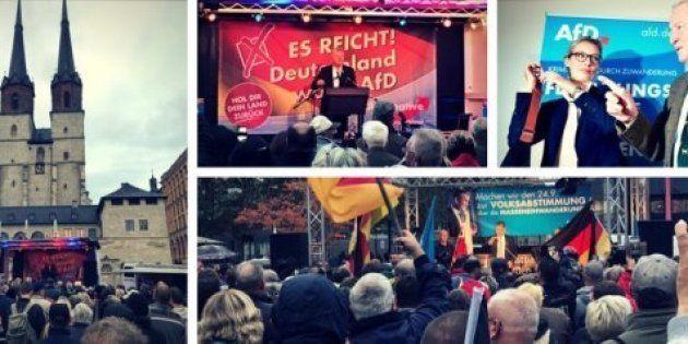 Élections en Allemagne: le HuffPost allemand a suivi une semaine de meetings de l'AfD – et découvert...