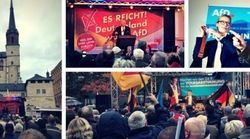 Le HuffPost Allemagne a suivi une semaine de meetings de l'AfD – et a découvert un autre visage du