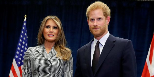 Le prince Harry et Melania Trump lancent les Invictus Games à
