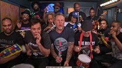 Metallica joue aussi très fort avec des instruments pour