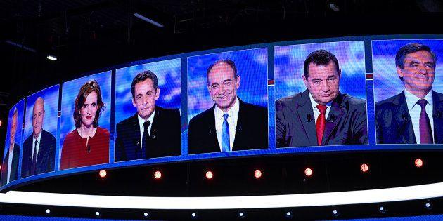 Bruno Le Maire, Alain Juppé, Nathalie Kosciusko-Morizet, Nicolas Sarkozy, Jean-Francois Copé, Jean-Frederic...