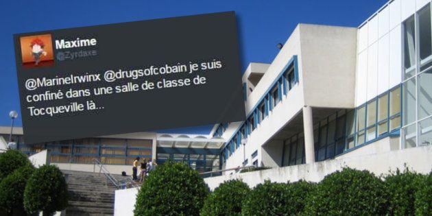 Fusillade au lycée Alexis de Tocqueville à Grasse: les élèves rassurent leurs proches sur