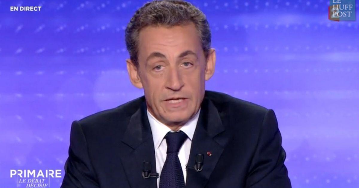 Debat De La Primaire De Droite Quelle Indignite Vous N Avez Pas Honte Repond Nicolas Sarkozy A David Pujadas A Propos De Ziad Takieddine Le Huffpost