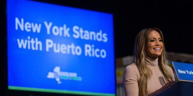 La femme de 48 ans s'est engagée à soutenir l'île dévastée par l'ouragan