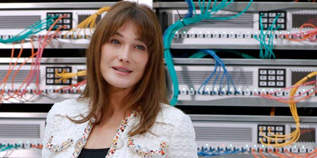 Carla Bruni-Sarkozy est mariée à Nicolas Sarkozy depuis février