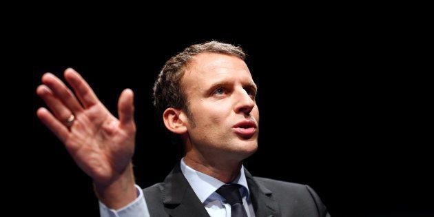 Emmanuel Macron à Marseille le 17 novembre