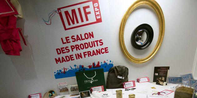 Des produits du salon du Made in France, qui a lieu les 18, 19 et 20 novembre 2016 à