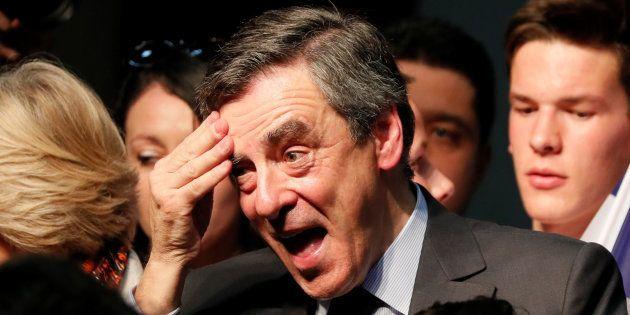 Francois Fillon à Pertuis le 15 mars
