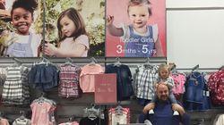 Cette chaîne de vêtements a choisi une petite fille atteinte de trisomie pour