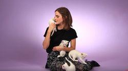 Emma Watson est incapable de faire une interview entourée de