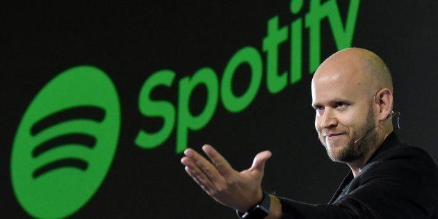 Daniel Ek, le PDG de Spotify, est en négociation avec les majors du