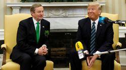 Trump cite un proverbe irlandais pour la Saint-Patrick. Problème, ce dicton n'est pas