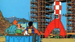 Une planche de Tintin vendue 1,55 million d'euros, un