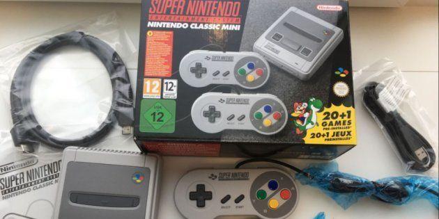 Le pack livré avec la Super Nintendo Classic