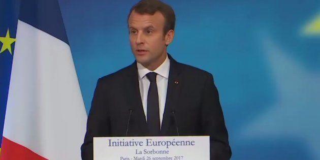 Macron veut accueillir des militaires étrangers dans l'armée