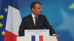 Taxe carbone, transactions financières... Macron plaide pour une fiscalité