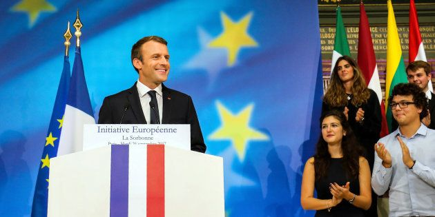 L'essentiel du programme européen d'Emmanuel
