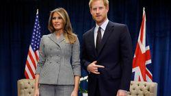 L'explication autour de cet étrange geste du prince Harry aux côtés de Melania