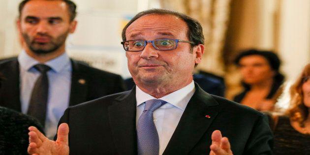 François Hollande à Lyon le 17 novembre