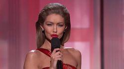 Gigi Hadid a osé une imitation de Melania Trump aux