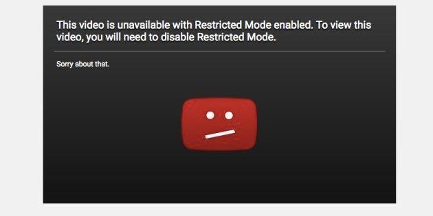 YouTube se fait incendier avec