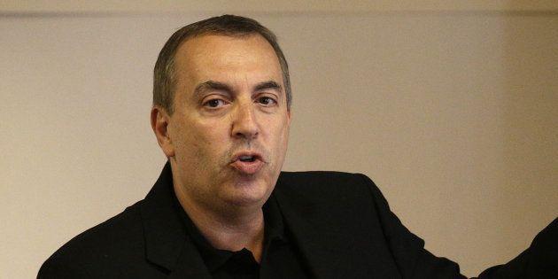 Jean-Marc Morandini en conférence de presse le 19 juillet à