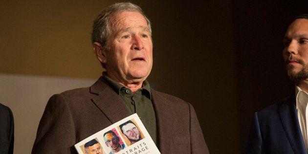 George W. Bush peint des vétérans dans