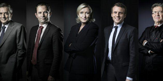 Les cinq favoris de la présidentielle débattent sur