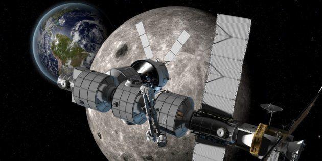 Pour construire une station spatiale autour de la Lune, la Russie va coopérer avec la