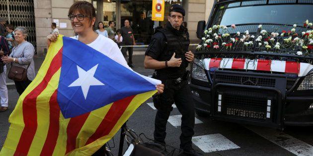 Les Mossos au coeur du bras de fer entre la Catalogne et